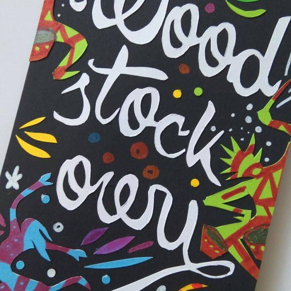 Kartka dla woodstockowicza